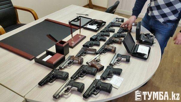 Мангистаусцы сдали добровольно более 600 единиц оружия