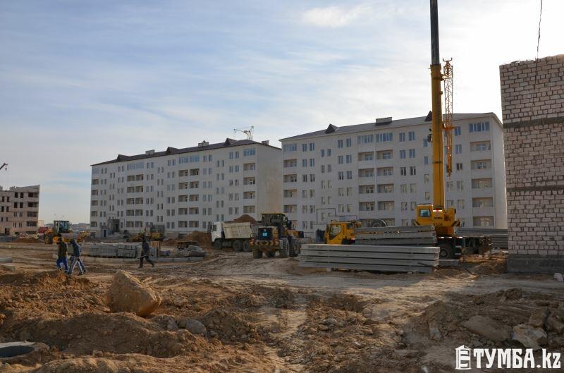 В этом году в Актау построят 7 жилых домов на 987 квартир