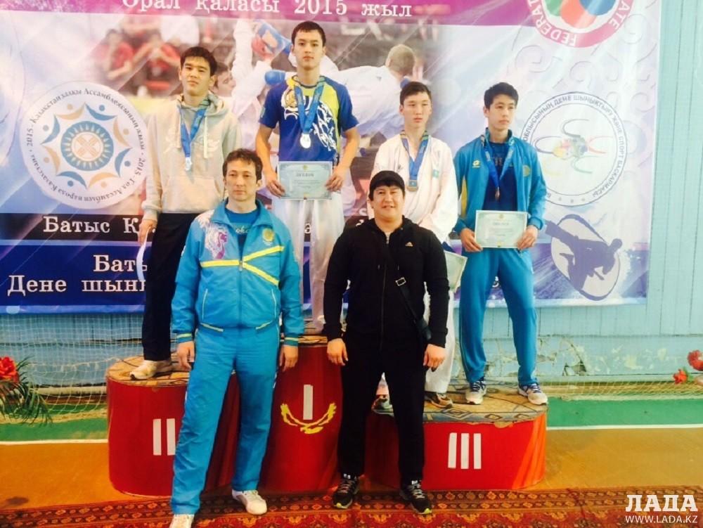 Актауские спортсмены пополнили копилку 24 медалями на чемпионате Казахстана по каратэ-до