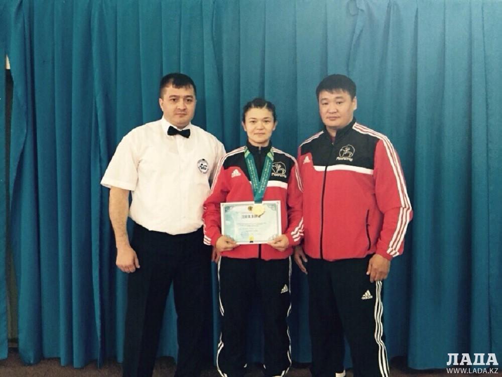 Спортсменка из Актау Жанна Баскаева стала двукратной чемпионкой Казахстана по боксу