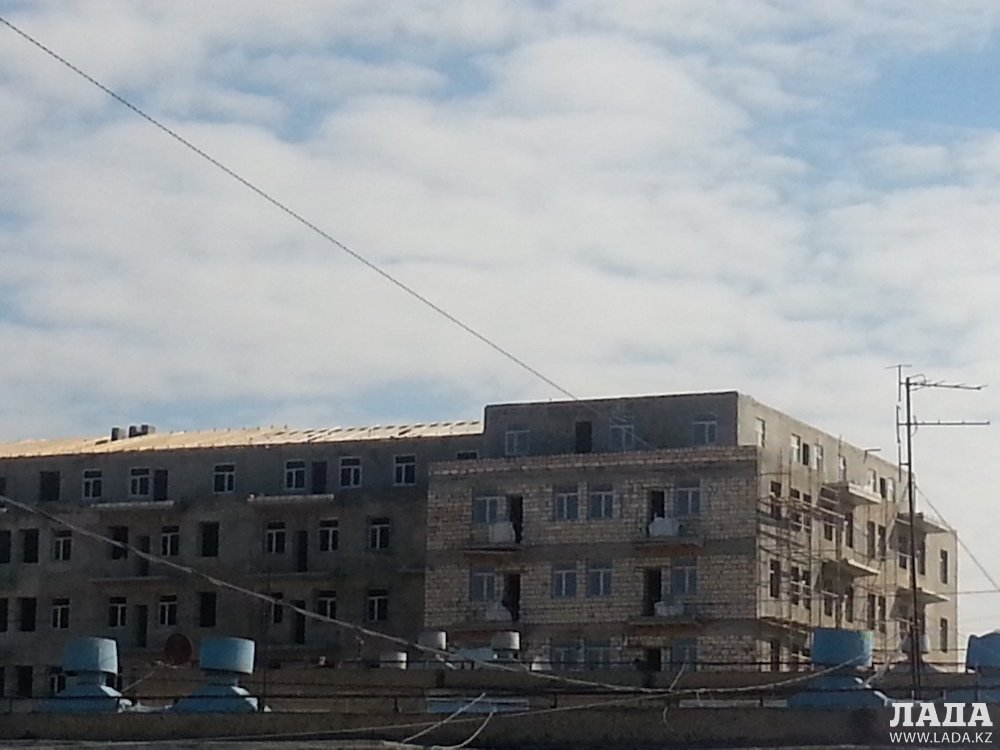 Как строят в Актау