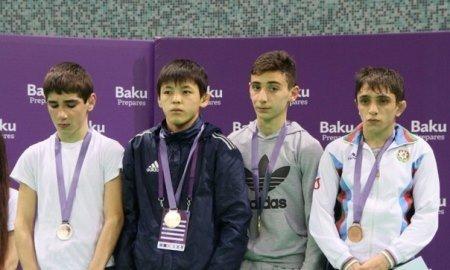 Жанаозенский борец Ерболат Ахметов завоевал золото на международном турнире в Баку