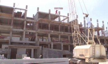 В Актау начали строить многоэтажки по принципу LEGO