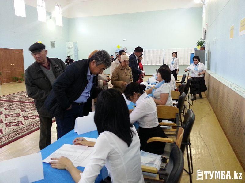 В Мангистауской области на 16 часов явка избирателей составила 76,15% - облизбирком