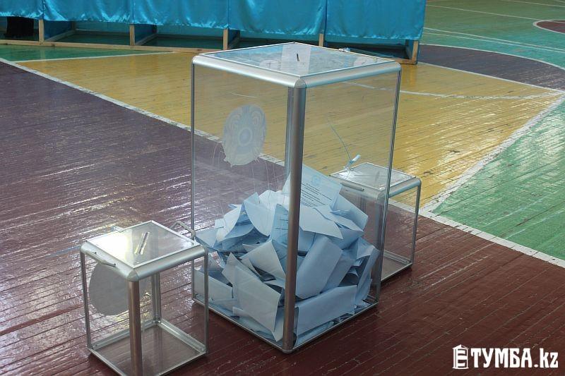 В Мангистауской области на 12 часов дня явка избирателей составила 34,12%