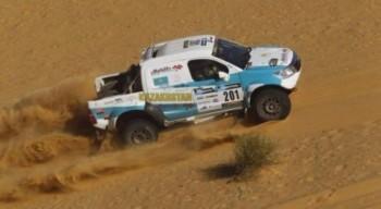 Казахстанские гонщики увеличили отрыв от преследователей в борьбе за 1-е место Africa Eco Race-2016
