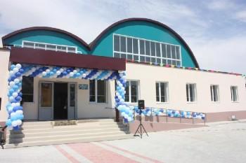 В Актау открыт новый спортзал ангарного типа