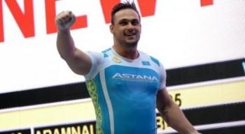 Сборная Казахстана по тяжелой атлетике заняла второе место на Кубке президента РФ