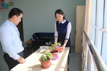 Школьники Актау разработали проект автоматического полива растений