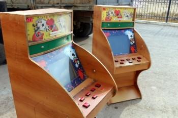В Актау уничтожили 52 игровых автомата (ФОТО)