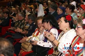 Все достижения Казахстана достигнуты благодаря единству и согласию нашего народа - приветствие Н.Назарбаева (ФОТО)