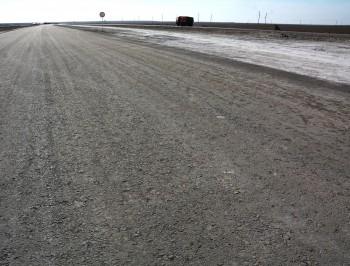Дорога «Бейнеу-Актау» в Мангистау завершена на 80%