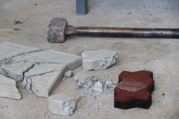 Выпуск резиновой брусчатки наладили в Мангистау (ФОТО)