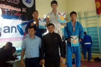 Дзюдоисты Мангистау завоевали в Кыргызстане два «золота»