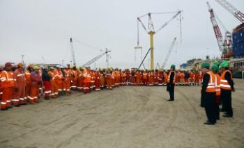 Делегация партии «Нұр Отан» провела встречи со строителями, моряками и нефтяниками Мангистау