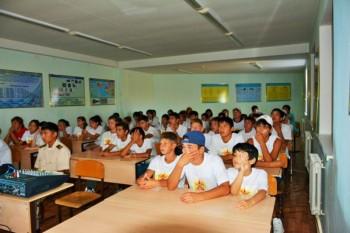 50 детей-сирот из Актау прошли обучение в военно-патриотическом лагере (ФОТО)