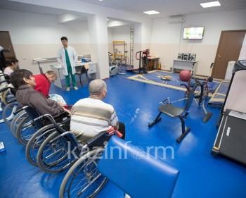 Спортзал для инвалидов открылся в Актау