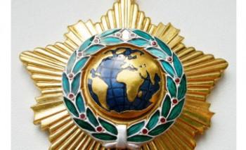 А. Лукашенко наградил Н. Назарбаева орденом Дружбы народов