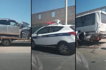 Пять человек пострадали в аварии с пассажирским автобусом в Мангистау