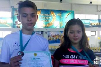 Девочка из Актау установила рекорд Казахстана по плаванию