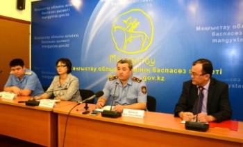 Заявлений о пропаже детей не поступало - ДВД Мангыстауской области