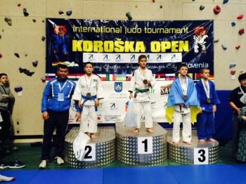 Мангыстауский дзюдоист стал серебряным призером кубка Европы в Словении