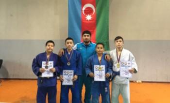 4 актауских дзюдоиста стали победителями международного турнира