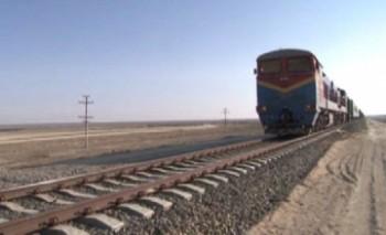В Мангыстау начата эксплуатация новой железнодорожной ветки «Боржакты-Ерсай»