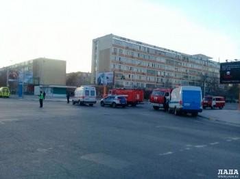 Из-за подозрительной коробки перекрывали дорогу в Актау