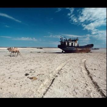 Леонардо Ди Каприо написал о проблеме Аральского моря