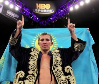 Назарбаев поздравил Головкина с победой над Лемье