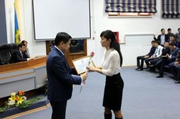 20 госслужащих награждены в Мангыстау (ФОТО)