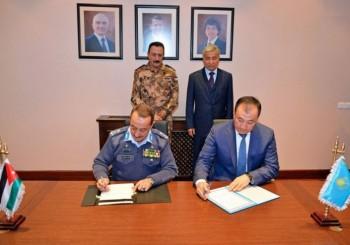 Казахстан и Иордания подписали соглашение о военном сотрудничестве