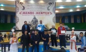 Мангистауцы завоевали три медали на Кубке РК по жекпе-жек