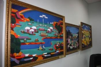 В Актау 10 дней будет работать выставка живописных работ из музея искусств Атырау (ФОТО)