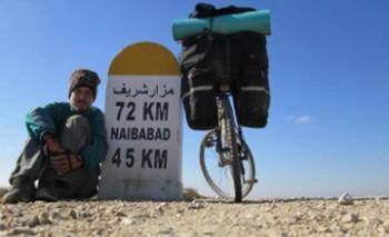 Казахстанец отправится в зимнее велопутешествие на Кавказ