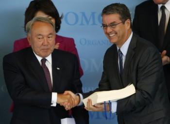 Казахстан официально вступил в ВТО