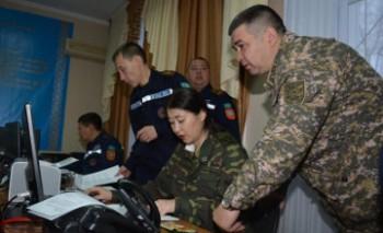 В Актау началось республиканское командно-штабное учение «Қыс-2015»