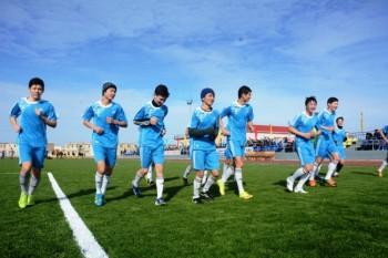 В Мангыстауской области детям села Курык подарили футбольное поле (ФОТО)