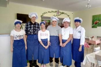 Для трудоустройства инвалидов в Актау открыли кафе
