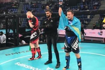 Казахстанец Лев Винс вышел в финал чемпионата мира по ММА