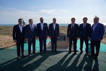 Аcкар Мамин принял участие в церемонии начала строительства нового туристического комплекса