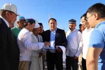 Мечеть будет построена возле святыни Алты-кулаш аулие в Актау