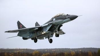 Истребитель МиГ-29 рухнул в Каспийское море