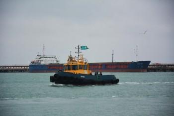 Морской порт Актау загружает около 4000 тонн зерна в сутки (ФОТО)