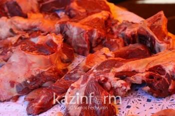 Производство мяса в Казахстане в январе-феврале увеличилось на 12,4%