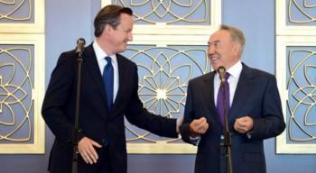 Назарбаев с официальным визитом прибыл в Великобританию