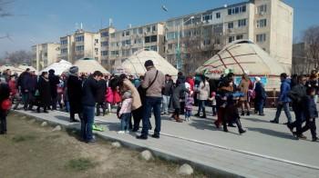 «Қыз ұзату» провели во время Наурыза в Актау
