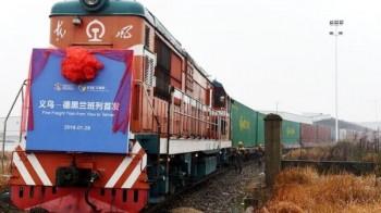 Запущен новый контейнерный поезд Китай – Иран с транзитом через Казахстан