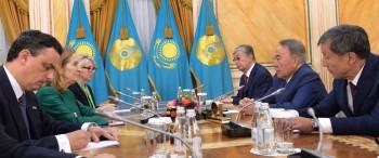 Президента Казахстана наградили Орденом Изабеллы Католической